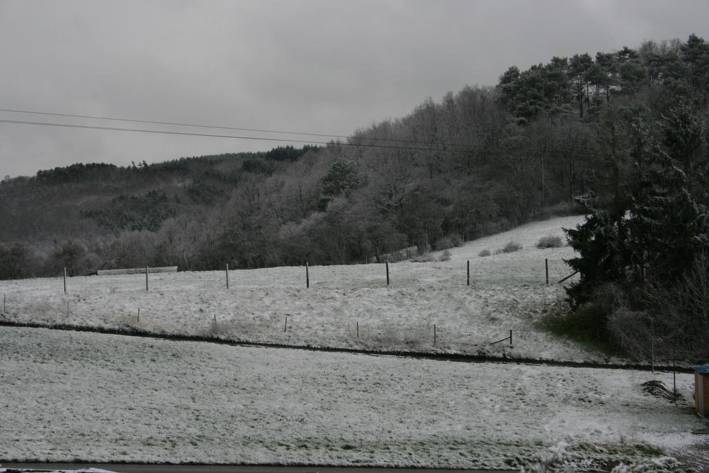 vue Sud sous la neige