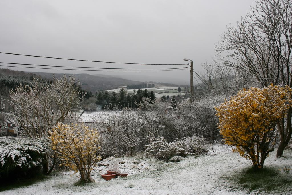 vue Ouest sous la neige